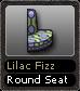 Lilac Fizz Round Seat