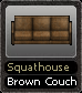 Squathouse Brown Couch