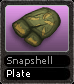 Snapshell Plate