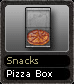 Snacks Pizza Box
