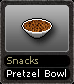 Snacks Pretzel Bowl