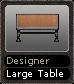 Designer Large Table