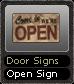 Door Signs Open Sign