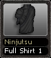 Ninjutsu Full Shirt 1