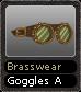 Brasswear Goggles A