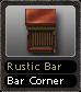 Rustic Bar Bar Corner
