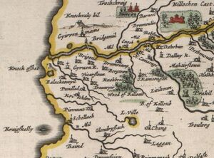 Map Girvan