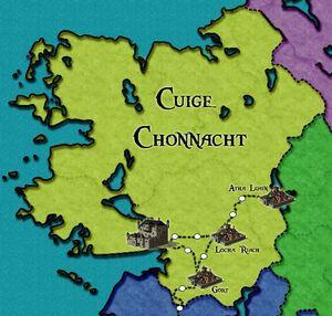 Chonnacht Map