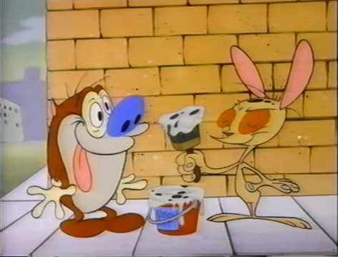 File:Ren and Stimpy with Dalmatian Paint.png