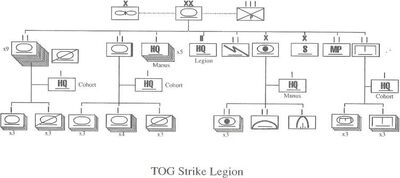 TOG Strike Legion Organization