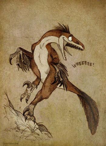 File:Deinonychus goes wheee.jpg