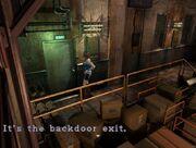 Backdoor exit