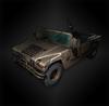 Military vehicle diorama