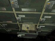 Unlocked locker