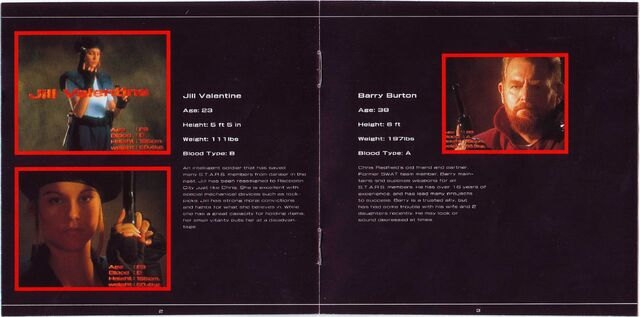 File:BIO HAZARD SOUND TRACK REMIX - JA booklet pages 2 and 3.jpg
