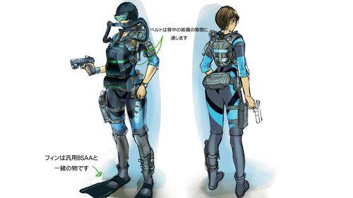 Making of Resident Evil Revelations - art 7