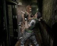 Resident-evil-1-chris-and-zombie