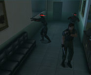 Zombies with goggles