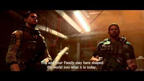 Resident Evil 6 all cutscenes - Declaration of Victory