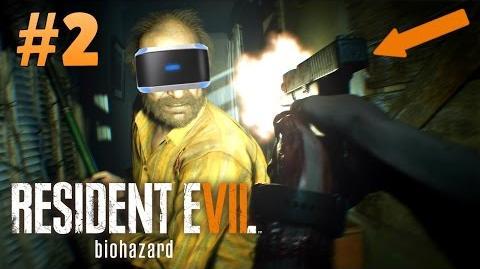 FINALLY FOUND A GUN! - Resident Evil 7 PLAYSTATION VR Gameplay - Part 2