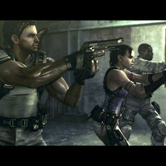 Josh, Sheva and Chris in action