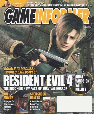 File:Resident Evil 4 - Game Informer March 2004, Issue 131 - Cover.jpg