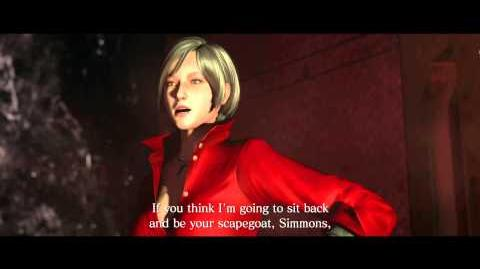 Resident Evil 6 all cutscenes - Ada Takes Action