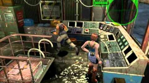 Resident Evil 3 Nemesis cutscenes - Emergency Level D (alternate)