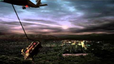 Resident Evil The Umbrella Chronicles all cutscenes - Death's Door 1 ending