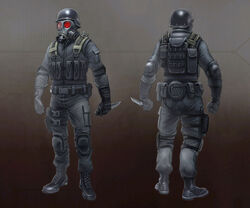 Operation Raccoon City gallery - Concept Item 116