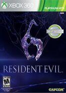 Resident Evil 6 - Xbox cover