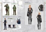 Resident Evil Revelations Artbook - page 7