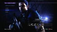 Chris RE6 mercenaries