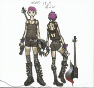 BIOHAZARD REVELATIONS 2 Concept Guide - Punk Rocker-style Moira