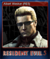 Steam Card - Albert Wesker (RE5)