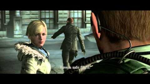 Resident Evil 6 all cutscenes - Seizing the City (Chris' version)