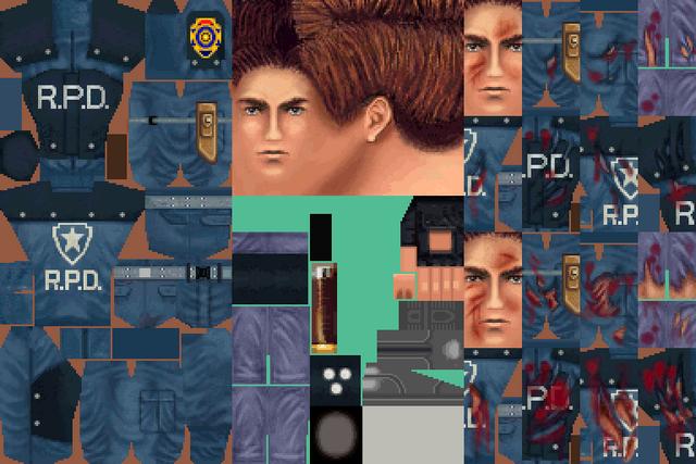 File:BIOHAZARD 1.5 textures - Leon standard (November 1996 build).png