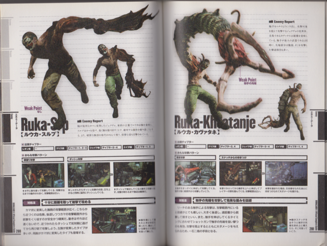 File:BIOHAZARD 6 Official Complete Guide - pages 280-289.png
