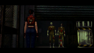 Resident Evil CODE Veronica - square in front of the guillotine - cutscenes 01-1