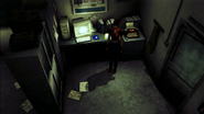 Resident Evil CODE Veronica - monitoring room - gameplay 02