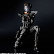 Square Enix - Operation Raccoon City Lupo figure