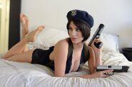 Julia Voth as Jill Valentine 41