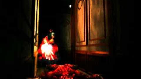 Resident Evil 2 Easter Egg? or Secret shooting on camera