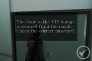 Degeneration Chapter 2 - locked VIP lounge door