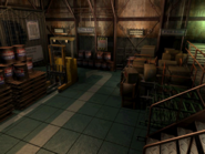 Resident Evil 3 background - Uptown - warehouse c1 - R10108