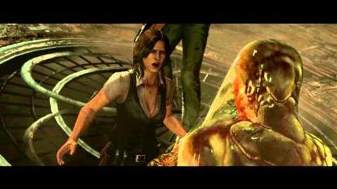 Resident Evil 6 all cutscenes - Deborah's Transformation