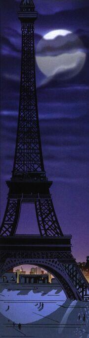 Eiffel Tower exterior