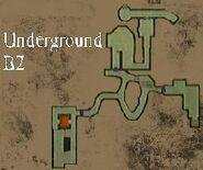 Resident Evil Remake Underground Tunnels B2