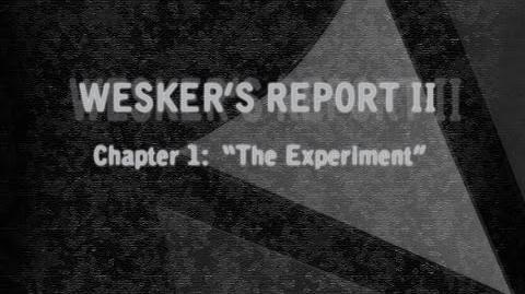Wesker's Report II (Narration D.C