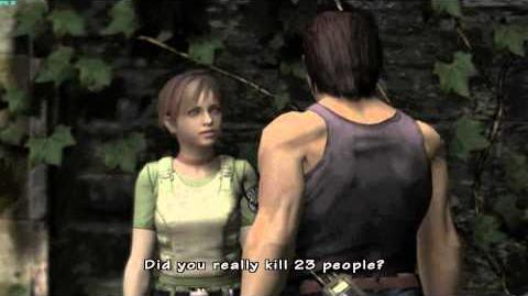Resident Evil The Umbrella Chronicles all cutscenes - Train Derailment 2 scene 2